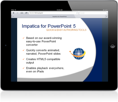 Imp4ppt5-on-iPad